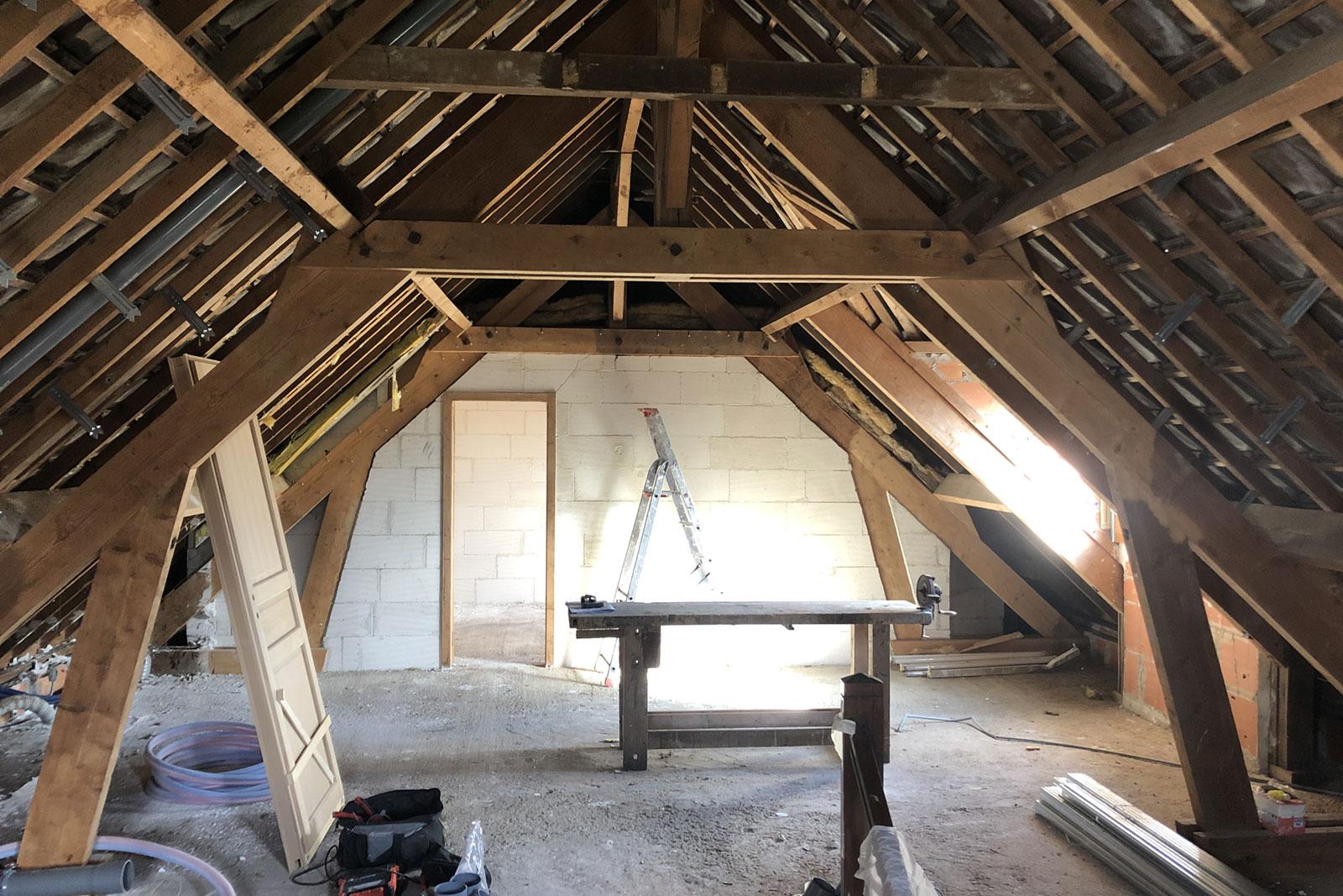 Rénovation à Dreux
