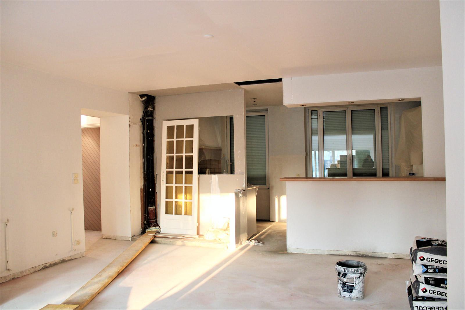 Rénovation à Saint-Nom-la-Bretèche